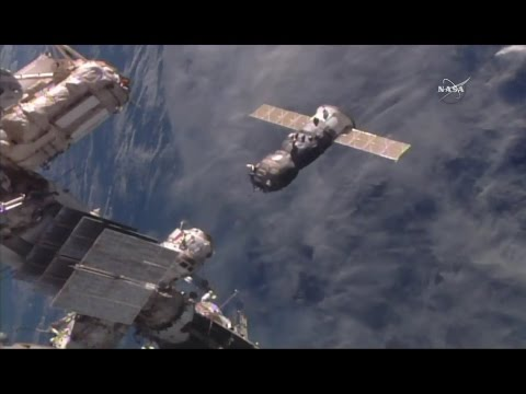 Progress MS - Manual Flying Exercise in Space
