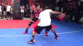 best of derrick rose playing 1 on 1 sick moves