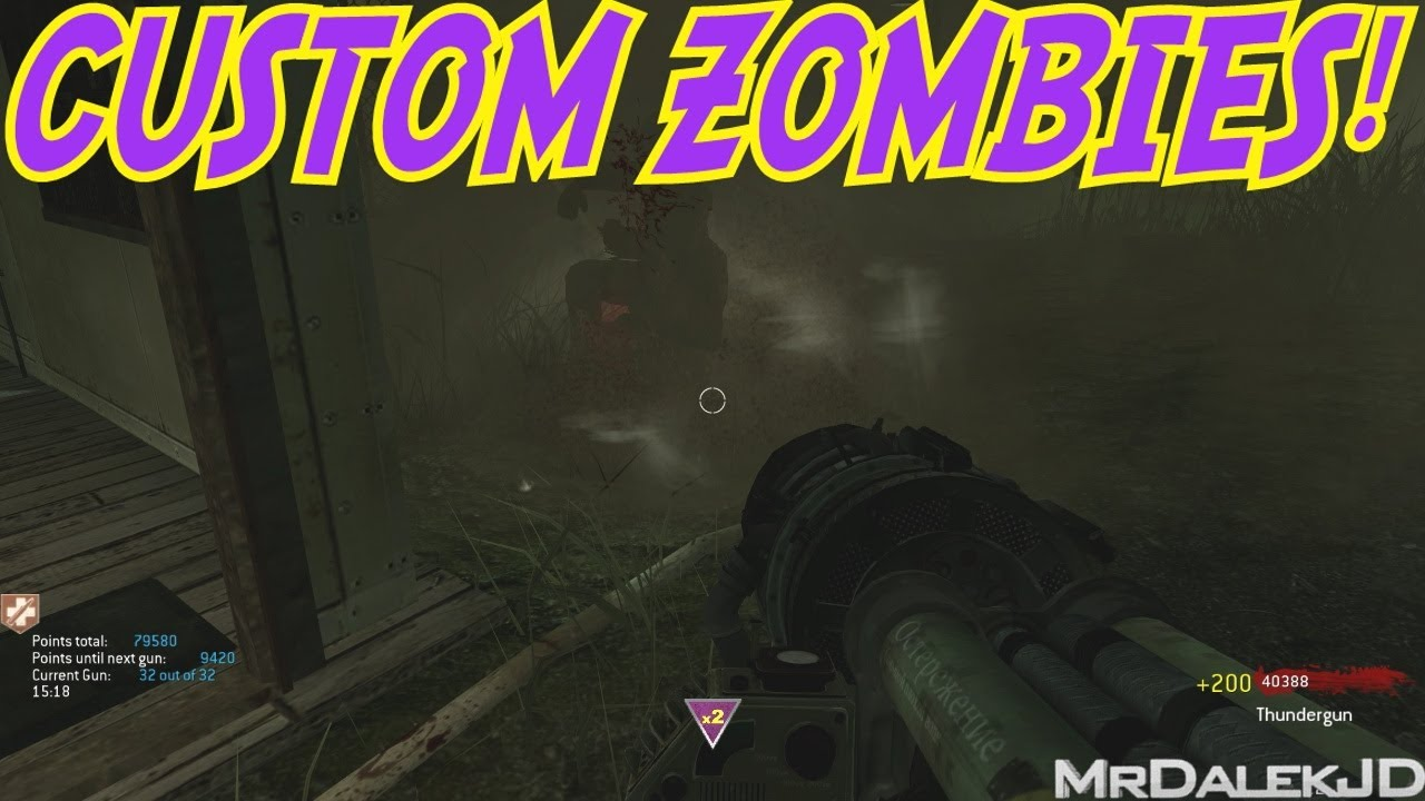 """INSANE GUN GAME!!!"" – Custom Zombies ""COMOSEA"" (CoD WaW Custom Zombies)"