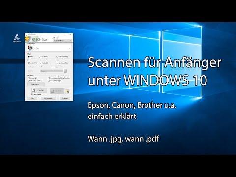 Scannen für Anfänger unter Windows