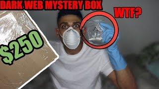 I bought a MYSTERY BOX off the dark web *CREEPY* Buying a mystery box off the dark web   Ali H