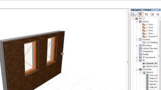 Привязка Элементов: Привязка Дверей и Окон к Стенам