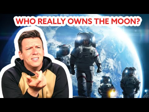 So uh...Who REALLY Owns The Moon? #Shorts