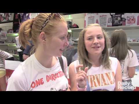 One Direction Store Silverburn Shopping Centre Glasgow