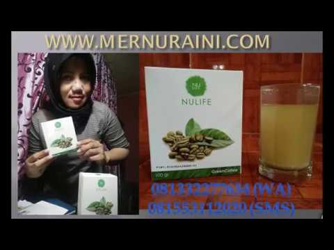 GREEN COFFEE NULIFE MENURUNKAN BERAT BADAN 081332277634