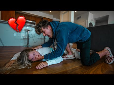 I PASSED OUT PRANK ON BOYFRIEND! (HE FREAKS OUT) from YouTube · Duration:  15 minutes 55 seconds