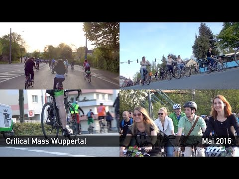 Critical Mass Wuppertal - Mai 2016