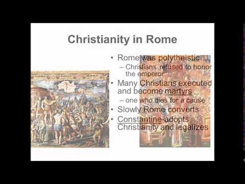 an analysis of the rise of christianity in the roman empire The way the romans viewed christianity is slightly different from the general theory the romans did not spend all their time hunting down christians in order to crucify them or throw them to the lions when christianity first started in the roman empire, it was viewed as another sect of judaism .