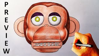 How to draw Chester from Five Nights at Candy
