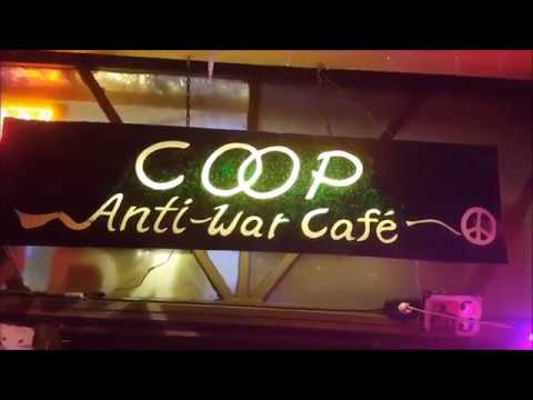 Coop Anti-War Cafe Berlin / We want Peace in the World!