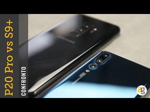 Confronto Huawei P20 pro vs Galaxy S9+