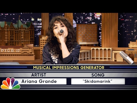 Thumbnail: Wheel of Musical Impressions with Alessia Cara