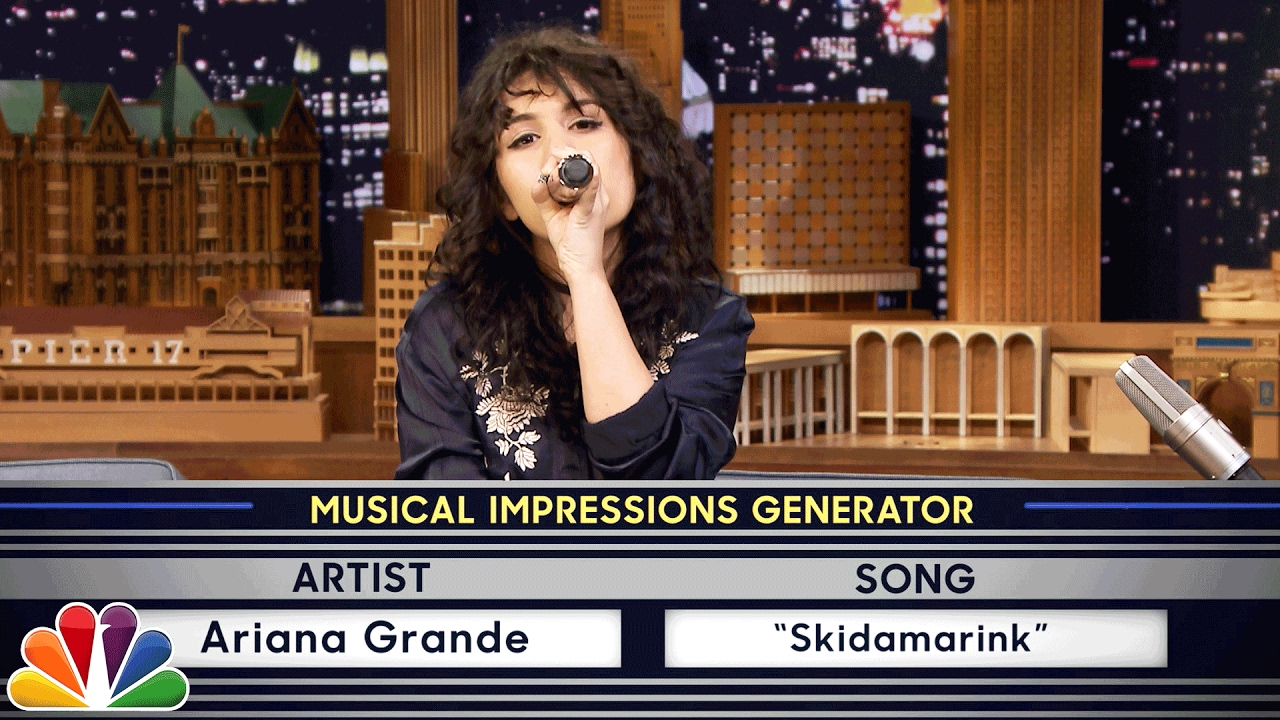 Alessia Cara hilariously impersonated Ariana Grande, Cardi B and more while singing Billie Eilish's 'Bad Guy' on 'The ...