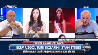Ahmet Çakar - Ecem Uzgör 'Ben temsil etsem daha iyi be!' (Türkiye Güzeli)