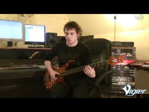 Vigier Passion series IV 4 string demonstration by Pascal Mulot