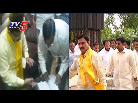 Sujana Chowdary,TG Venkatesh Files Nomination For Rajya Sabha Election TV5 News
