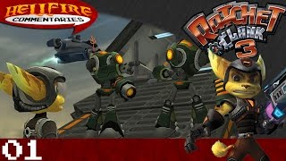 Ratchet & Clank 3 playthrough [Part 1: Bombs, Banter and Beyond]