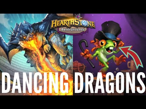 A DANCE With DRAGONS!   Hearthstone Battlegrounds
