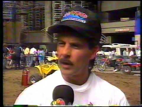 Conférence de presse Super Motocross de Montréal 1991