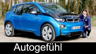 BMW i3 FULL REVIEW range Facelift 94 Ah test driven - Autogefühl thumbnail