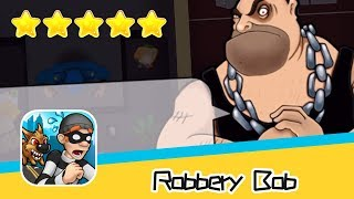 Robbery Bob™ - Level Eight AB - Downtown Day1 Walkthrough Stylish Suit Recommend index five stars