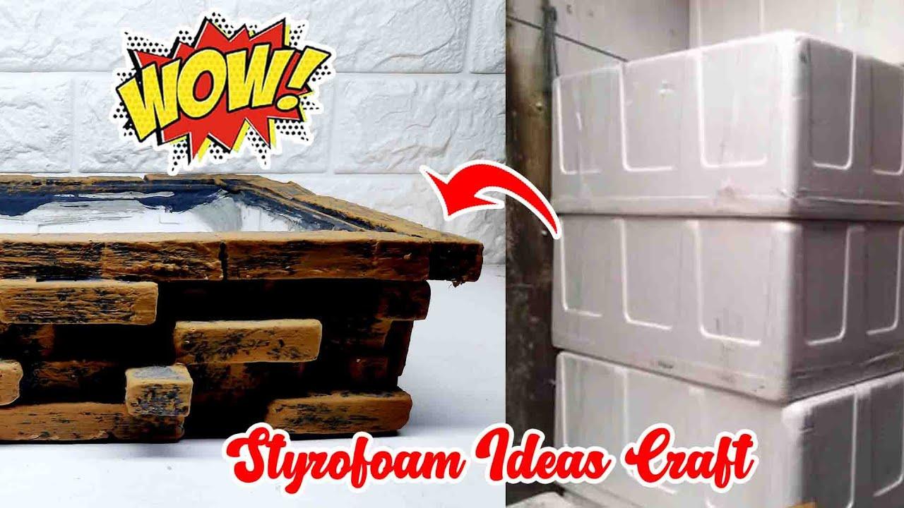 Styrofoam Craft Ideas Handmade Best Reuse Ideas Handmade Youtube