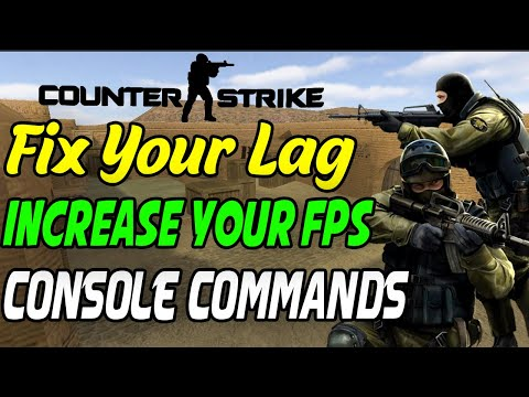 How To Fix The Lag In CS 1.6 | Increase Your Fps | Best Console Commands For Better Gameplay