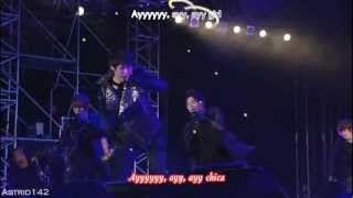 [HD] JYJ - Ayy Girl [esp + english + karaoke]