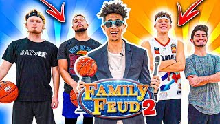 2HYPE NBA 2v2 Basketball FAMILY FEUD! *WIN NBA COURTSIDE TICKETS*