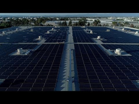 Honda Renewable Energy Commitment American Solar Array