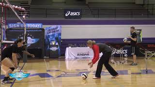 AVCA Video Tip of the Week: Toss and Collapse Defensive Posturing