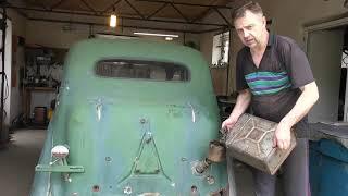 Подготовка Москвич 400 (401) к первому выезду.Ремонт  Moskwitsch 400(401) Opel Kadett K 38