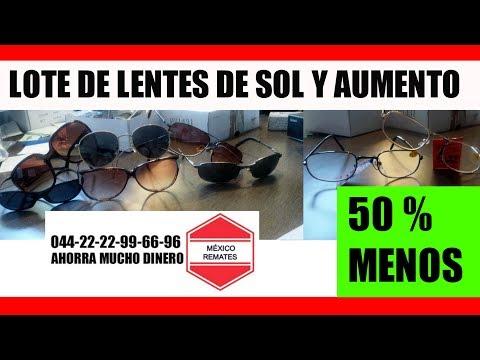 8f0d20eadb Lote De Lentes Clon mexico REMATES MEXICO - YouTube