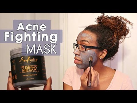 Shea Moisture African Black Soap Mask Review
