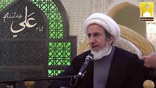الشيخ حبيب الكاظمي - إسم السيدة زينب عليها السلام من الله جل وتعالى