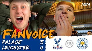 Crystal Palace thrash Leicester City 5-0!  |  Palace 5-0 Leicester  |  90min FanVoice