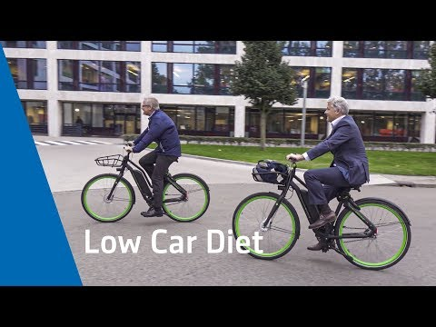 Aegon CFO Matt Rider test drives the Low Car Diet