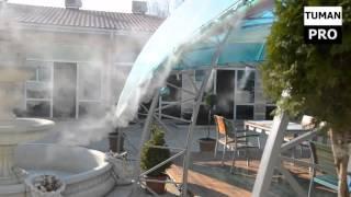 Система туманообразования в кафе и ресторанах(Туман-Про : Система туманообразования в кафе и ресторанах Системы туманообразования, установленные на..., 2016-01-28T06:52:40.000Z)