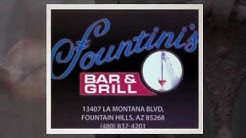 Fountain Hills Restaurants - Coupon for Fountini's Bar and Grill Restaurant Located below Video