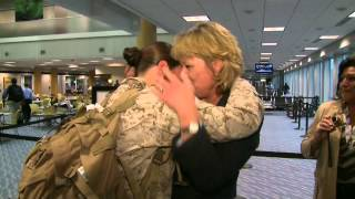 West Michigan Marine Returns Home for the Holidays