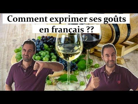 Download COMMENT EXPRIMER SES GOÛTS EN FRANÇAIS ??