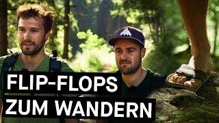 Flip-Flops zum Wandern? Zwei Rosenheimer haben sie erfunden!    Bavarian Makers