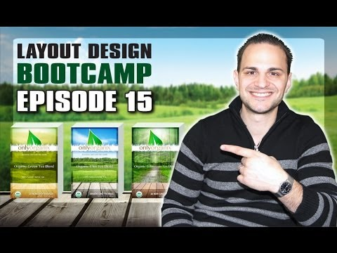Professional Graphic Design Layout Lesson