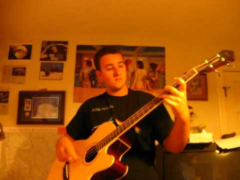 Pink Floyd - Money - Acoustic Bass Cover