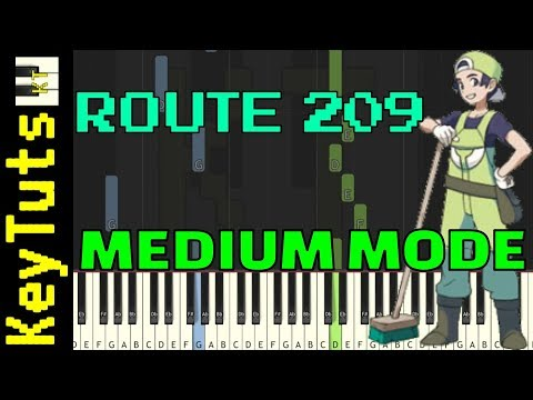 Learn to Play Route 209 from Pokemon Diamond and Pearl - Medium Mode