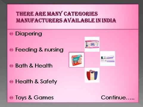 Online Store for Baby Diapers in India