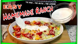 How to Make Homemade Ranch Dressing! (Sheila Loves This Stuff)