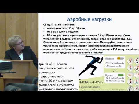 Котешкова О.М. Физические нагрузки.