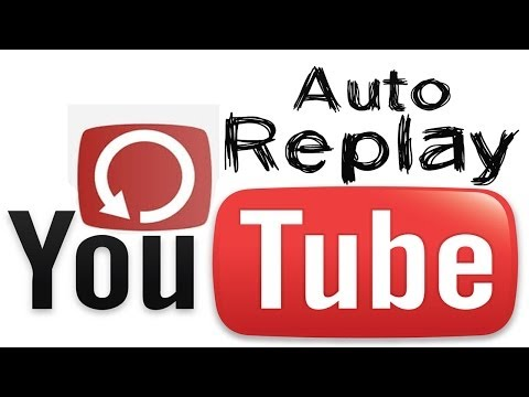 How to Add Automatic Replay Button in YouTube Free