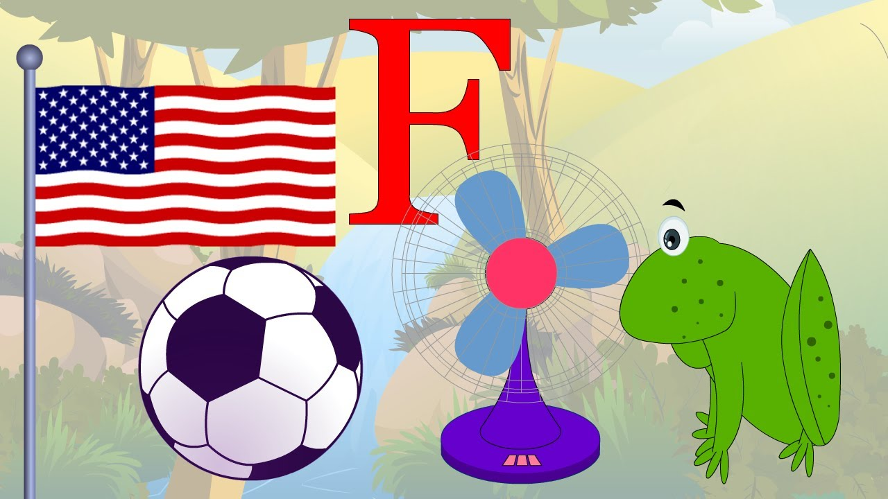Learn About The Letter F   Preschool Activity   YouTube